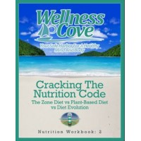 Nutrition Workbook 2: Cracking The Nutrition Code: The Zone Diet vs Plant-Based Diet vs Diet Evolution